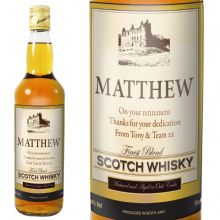Traditional Castle Whisky